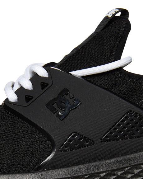 BLACK WHITE WOMENS FOOTWEAR DC SHOES SNEAKERS - ADJS700051BKW