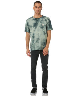 PALE GREEN MENS CLOTHING NUDIE JEANS CO TEES - 131686G41