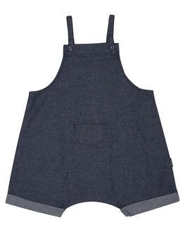 DENIM INDIGO KIDS BABY BONDS CLOTHING - BXTPAINDMN