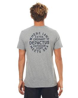 GREY MARLE MENS CLOTHING DEPACTUS TEES - D5171003GRYMA