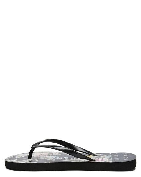 OFF BLACK WOMENS FOOTWEAR BILLABONG THONGS - 6613805OBLK