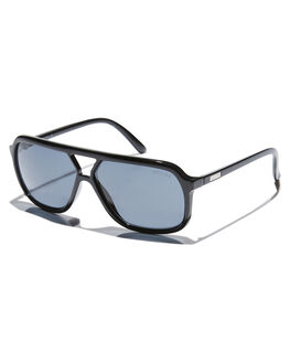 GLOSS BLACK MENS ACCESSORIES CHILDE SUNGLASSES - CLD-G0700110GBLK