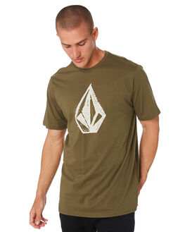 MILITARY MENS CLOTHING VOLCOM TEES - A504181GMILTR