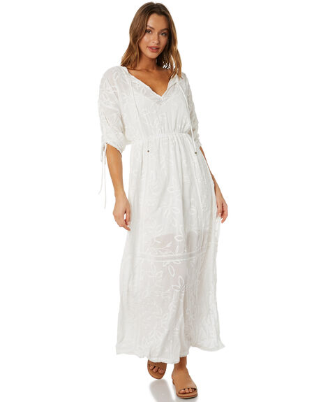ANTIQUE WHITE WOMENS CLOTHING TIGERLILY DRESSES - T602410AWT