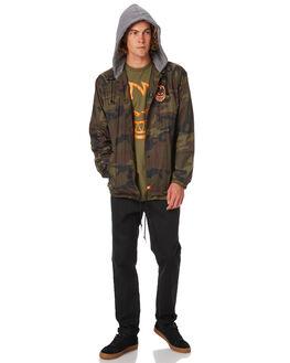 CAMO MENS CLOTHING SPITFIRE JACKETS - CJKTCAMO