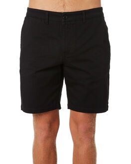 BLACK MENS CLOTHING DEPACTUS SHORTS - D5184241BLACK