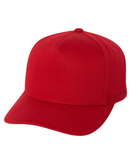 RED MENS ACCESSORIES FLEX FIT HEADWEAR - COSS18-001RED