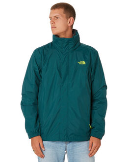 BOTANICAL GREEN MENS CLOTHING THE NORTH FACE JACKETS - NF0A2VD55PE