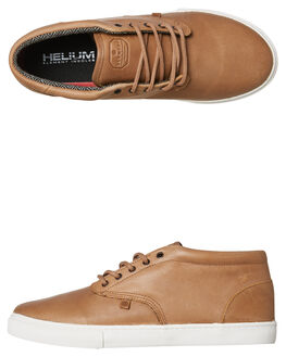 WALNUT MENS FOOTWEAR ELEMENT SNEAKERS - 183905WAL