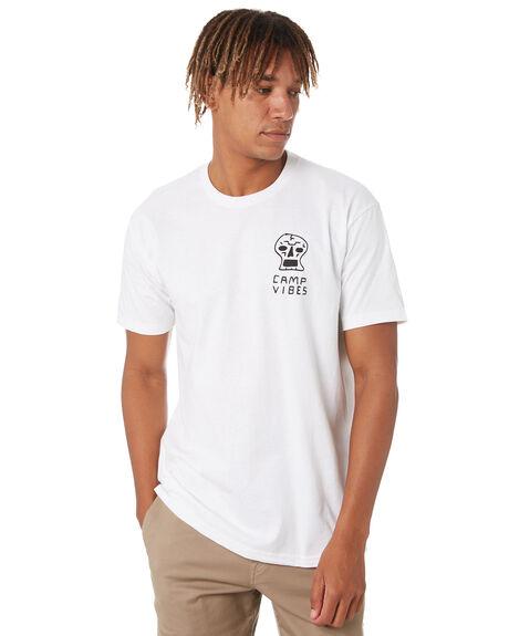 WHITE MENS CLOTHING POLER TEES - 213APM2006-WHT