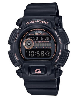BLACK  ROSE GOLD WOMENS ACCESSORIES G SHOCK WATCHES - DW9052GBX-1A4BKRGD