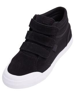 BLACK/WHITE KIDS BOYS DC SHOES SNEAKERS - ADBS300339-BKW