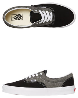 CANVAS BLACK MENS FOOTWEAR VANS SNEAKERS - VNA38FRVJ6CBLK
