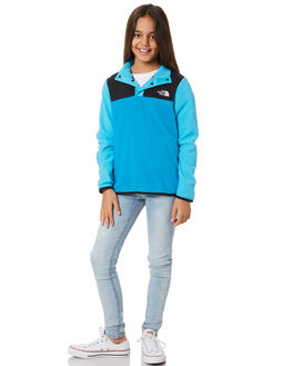 ACOUSTIC BLUE KIDS GIRLS THE NORTH FACE JUMPERS + JACKETS - NF0A3NKCJA7BLU