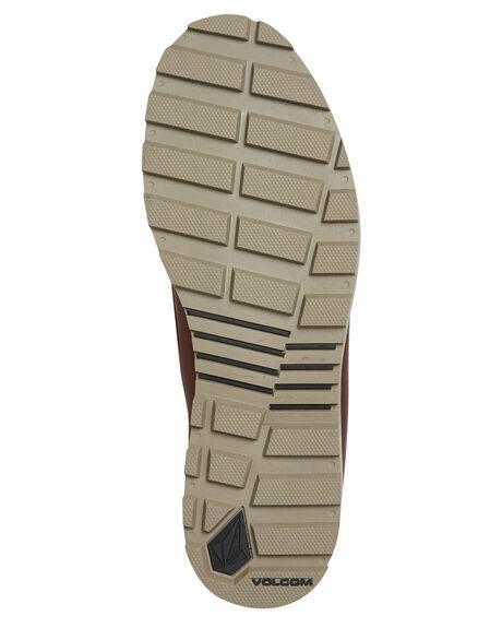BURNT SIENNA MENS FOOTWEAR VOLCOM BOOTS - V4011515BRT