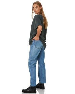 TRUCKER BLUE WOMENS CLOTHING THRILLS JEANS - WTDP-431ETTRKBL