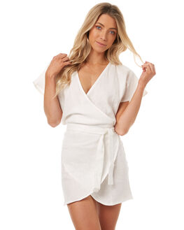 IVORY WOMENS CLOTHING LILYA DRESSES - LND04-LSP17IVR