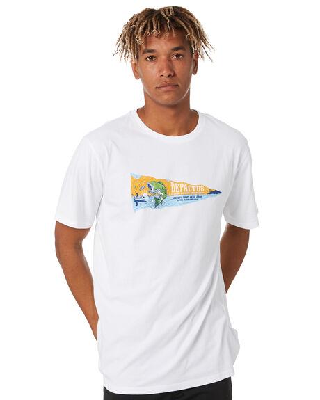 WHITE MENS CLOTHING DEPACTUS TEES - D5211007WHITE