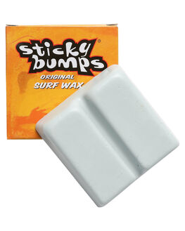 ORANGE WHITE BOARDSPORTS SURF STICKY BUMPS WAX - SB21W-AORGWH