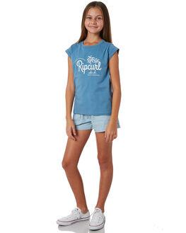 TEAL KIDS GIRLS RIP CURL TOPS - JTEDR14821