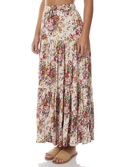 LONGBEACH FLORAL WOMENS CLOTHING AUGUSTE SKIRTS - AUG-SM2-16639LBF
