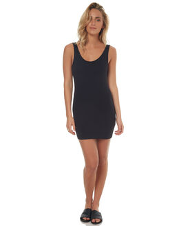 BLACK WOMENS CLOTHING BETTY BASICS DRESSES - BB203BLK