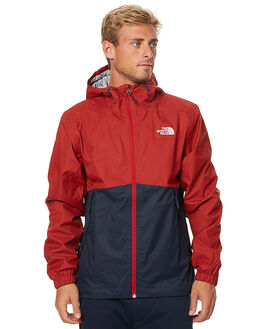 URBAN NAVY RED MENS CLOTHING THE NORTH FACE JACKETS - NF00SC0PTLD