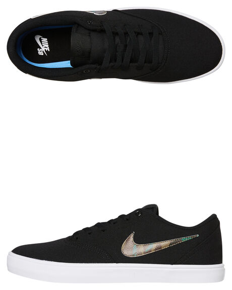 BLACK IGUANA MENS FOOTWEAR NIKE SKATE SHOES - 843896-020