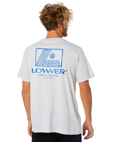 SILVER MARLE OUTLET MENS LOWER TEES - LO18Q4MTS03SLVML
