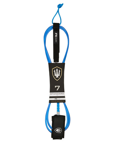 BLUE WHITE BOARDSPORTS SURF FK SURF LEASHES - 1287BLUWHI