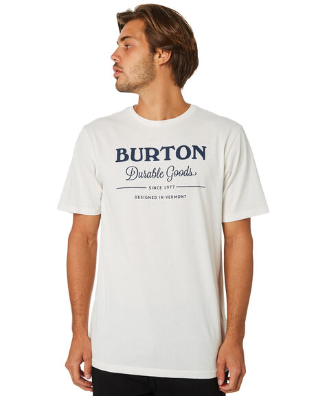 HEATHER BLACK MENS CLOTHING BURTON TEES - 203821100