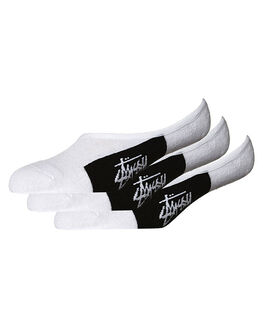 WHITE MENS CLOTHING STUSSY SOCKS + UNDERWEAR - ST742000WHI