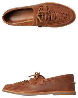 MOCHA MENS FOOTWEAR URGE SLIP ONS - URG17174MOC