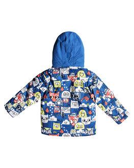 DAPHNE BLUE ANIMAL BOARDSPORTS SNOW QUIKSILVER TODDLER BOYS - EQKTJ03009BQC1