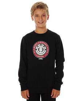 FLINT BLACK KIDS BOYS ELEMENT JUMPERS - 376301ABLK