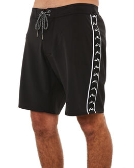 BLACK MENS CLOTHING RUSTY BOARDSHORTS - BSM1228BLK