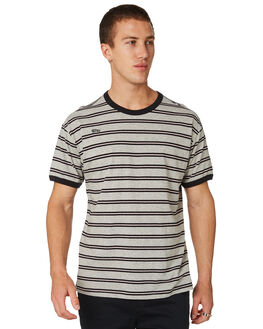 GREY HEATHER OUTLET MENS HURLEY TEES - AJ7187050