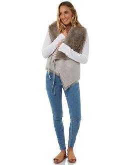 GREY WOMENS CLOTHING LILYA JACKETS - SHV03-CHLAW18GRY