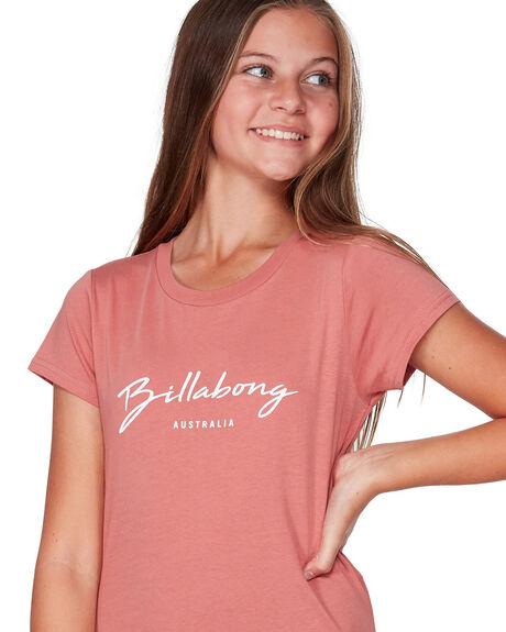 DUSTY ROSE KIDS GIRLS BILLABONG TOPS - BB-5507002-DU4