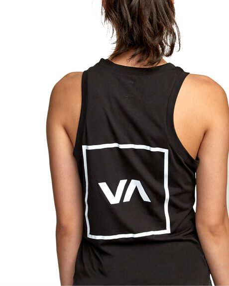 BLACK WOMENS CLOTHING RVCA ACTIVEWEAR - RV-R492873-BLK