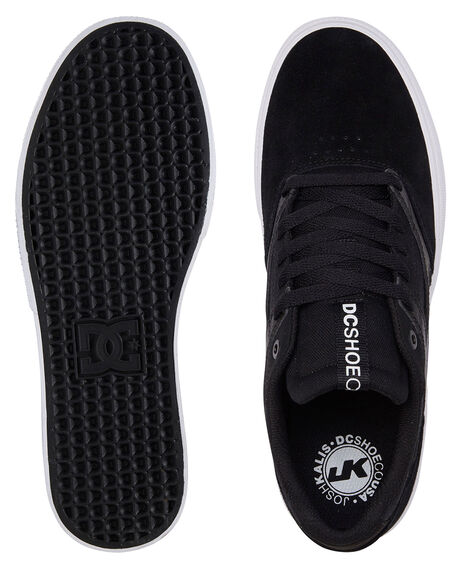 BLACK/WHITE MENS FOOTWEAR DC SHOES SNEAKERS - ADYS300569-BKW