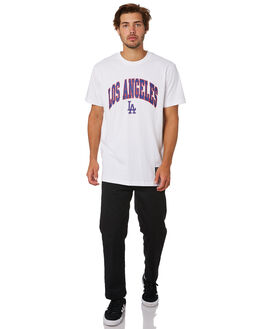 DODGERS WHITE MENS CLOTHING MAJESTIC TEES - MLD7060WBWHT