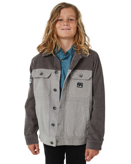 PEWTER KIDS BOYS BILLABONG JUMPERS + JACKETS - 8581902PEWT