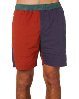 MULTI MENS CLOTHING BRIXTON SHORTS - 04090MULTI