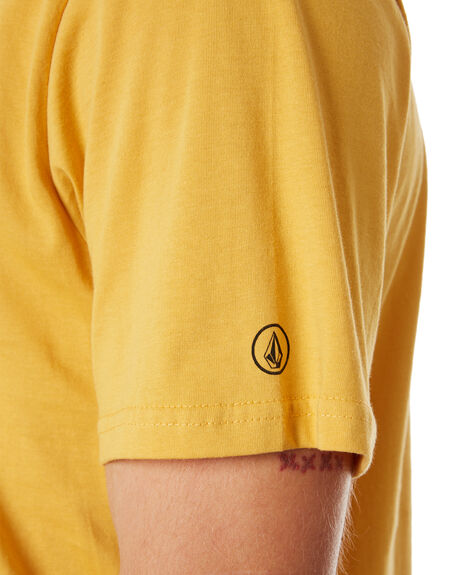 HONEY GOLD MENS CLOTHING VOLCOM TEES - A5011530HGD