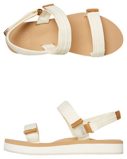 VINTAGE WHITE WOMENS FOOTWEAR REEF FASHION SANDALS - A3YPAVIW