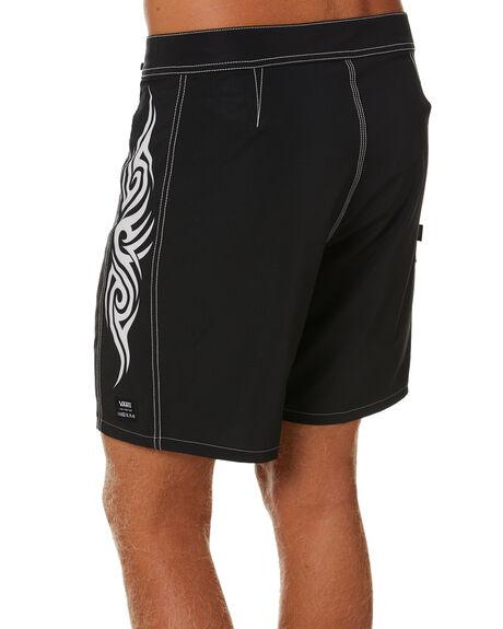 BLACK MENS CLOTHING VANS BOARDSHORTS - VN0A4TRVBLKBLK