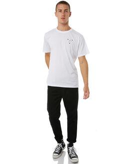 WHITE MENS CLOTHING THRILLS TEES - TA8-104AWHT