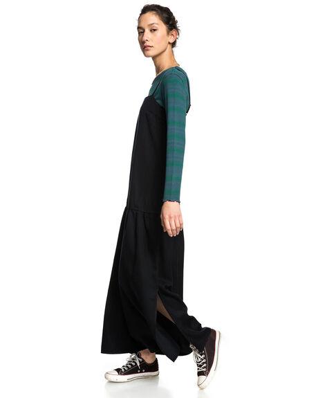 ANTHRACITE WOMENS CLOTHING QUIKSILVER DRESSES - EQWWD03008-KVJ0