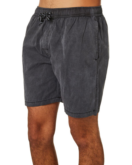 BLACK MENS CLOTHING SWELL BOARDSHORTS - S5164233BLK